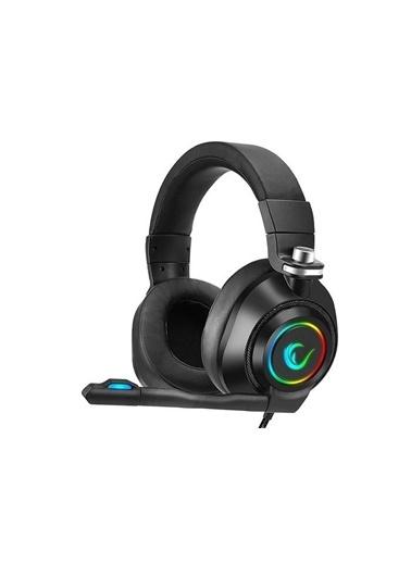 Rampage Rm-K20 Amaze Siyah Usb 7.1 Noice Cancelling Mic Rgb Ledli Gaming Oyuncu Mikrofonlu Kulaklık Renkli
